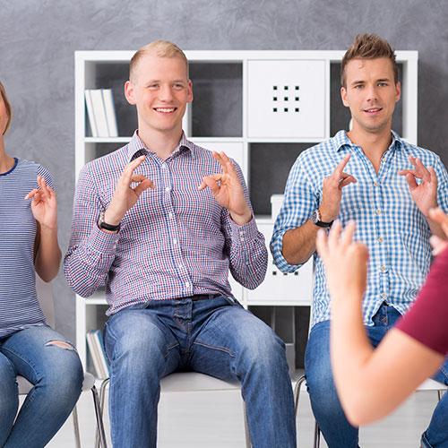 işaret dili eğitimi tam kur